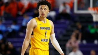 Oklahoma State And No. 1 Recruit Cade Cunningham Were Banned From The 2021 NCAA Tournament