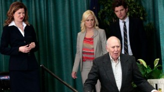 Mike Schur Looked Back On Carl Reiner's Brilliant Improv During His 'Parks And Rec' Appearance