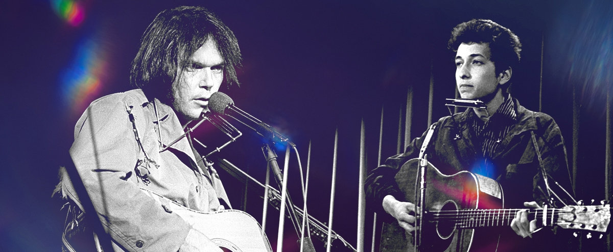 Let's Finally Figure Out Who's Better: Bob Dylan Or Neil Young?