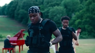 DaBaby And Roddy Ricch Fight Off A Zombie Invasion In Their Action-Packed 'Rockstar' Video