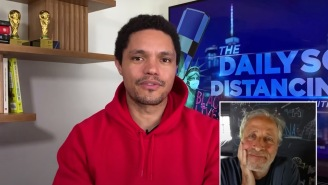Jon Stewart Explains Why 'The Daily Show' Is 'Better' With Trevor Noah Hosting