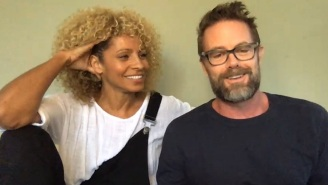 On 'Friday Night In With The Morgans,' Garret Dillahunt and Wife Michelle Hurd Revealed Their Meet Cute