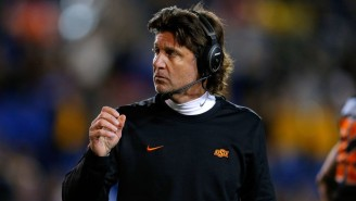 Star RB Chuba Hubbard 'Will Not Be Doing Anything With Oklahoma State' After Mike Gundy Wears OAN Shirt