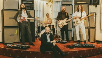 Idles Show Off Gory Animal Attacks In Their Brutal 'Reigns' Video