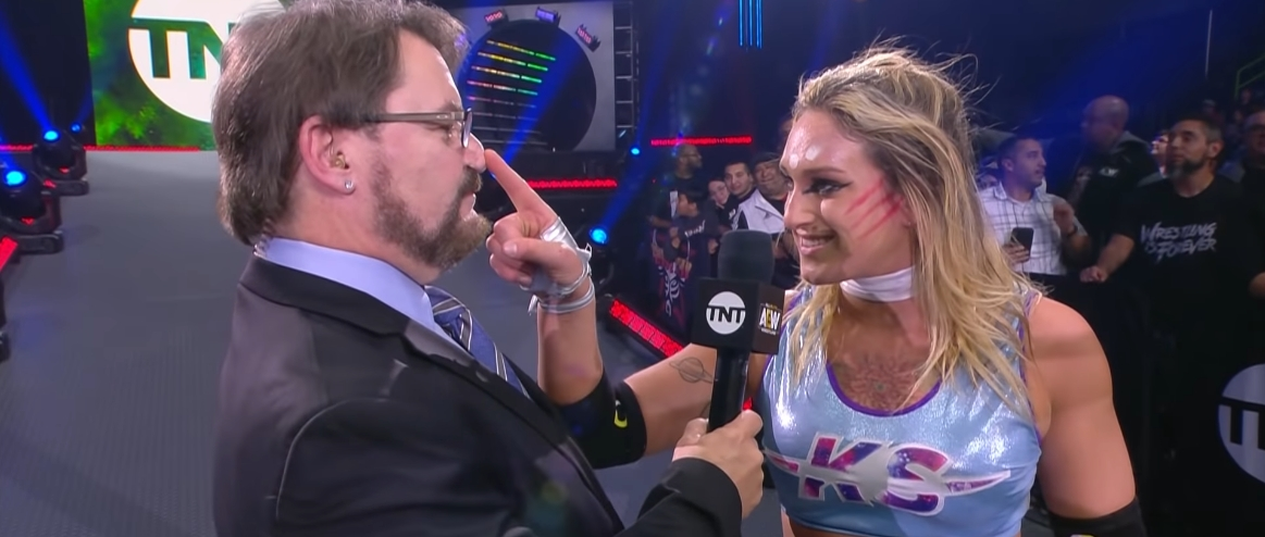 AEW's Kris Statlander Is Out With A Torn ACL After This Week's Dynamite