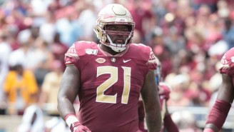 FSU's Marvin Wilson Led A Team Meeting To Set A Plan Of Action To Help The Community