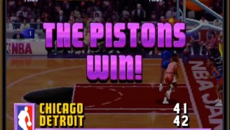 'NBA Jam' Really Was Biased Against The Bulls Because Its Creator Was A Pistons Fan