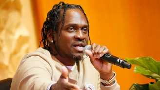 Pusha T Posed For A Photo With A Police Officer And Fans Have Questions