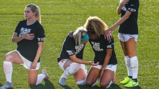 Julie Ertz And Casey Short Pledged To 'Be The Change' Following Their Emotional Anthem Moment