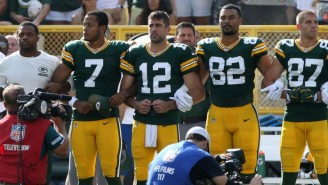 Aaron Rodgers Explained To Drew Brees That Protests Have 'Never Been About The Anthem Or Flag'