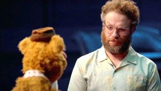 Seth Rogen Looks Like A Human Muppet In Disney+'s 'Muppets Now' Trailer
