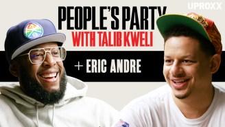 Talib Kweli & Eric Andre Talk Comedy, Pranks, Trolling RNC, Rawkus, & Hip-Hop