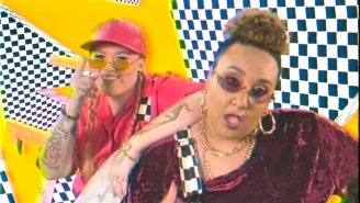 Blimes And Gab Take It Back To The '80s In Their Surreal 'Shellys (It's Chill)' Video