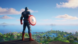 A Captain America Skin Is Now Available In 'Fortnite'