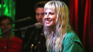 Hayley Williams Gives A Relaxing Acoustic Rendition Of 'Simmer' From Her Porch