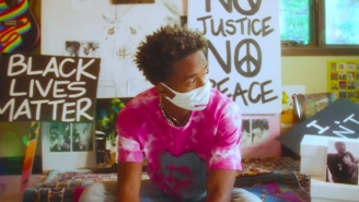Jaden Covets A Quarantine Crush In His Hippie-ish 'Cabin Fever' Video