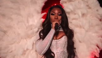 Megan Thee Stallion Vogues For A Revved-Up Remix Of 'Savage' On The Finale Of 'Legendary'