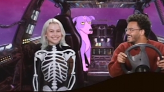 Zack Fox Helps Phoebe Bridgers Get To Goth Prom On His New Twitch Show 'Released!'
