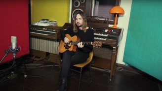 Tame Impala Strips Down His Expansive 'The Slow Rush' Number 'On Track' With An Acoustic Performance