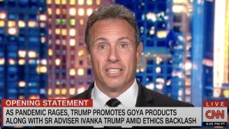 Watch CNN's Chris Cuomo Launch Into A Profanity-Laced Rant Over Trump 'Hocking' Goya Beans In The Oval Office