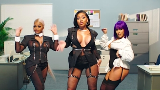 City Girls Go To Work With Doja Cat In Their Business Casual 'P*ssy Talk' Video