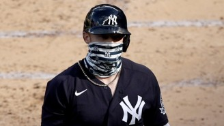 Clint Frazier And Didi Gregorious Jacked Home Runs While Wearing Masks