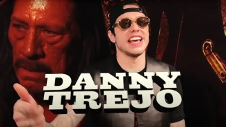 Danny Trejo Loved Pete Davidson's 'Amazing' Song About Him On 'SNL At Home'