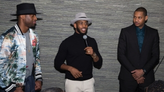 Carmelo Anthony, Dwyane Wade, And Chris Paul Announced The Social Change Fund