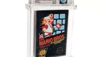 An Unopened Copy Of 'Super Mario Bros' Became The Most Expensive Video Game Ever Sold