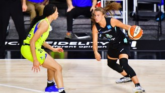 Sabrina Ionescu Bounced Back From A Rough Debut With 33 Points Against The Wings