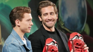 Tom Holland Is Roasting Jake Gyllenhaal With A Fake Giveaway Contest