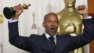 Jamie Foxx Is 'Thankful' To Share A 'Good Stat' With Barbra Streisand And Frank Sinatra