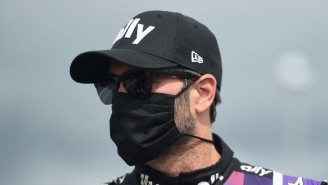 Jimmie Johnson Will Miss The Brickyard 400 After A Positive COVID-19 Test