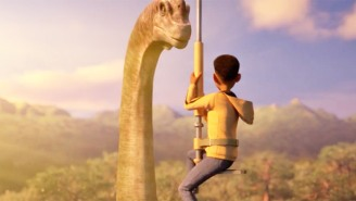 The 'Jurassic World' Animated Series From Netflix And Spielberg Shows Off Frenzied Dino Chases In A Teaser