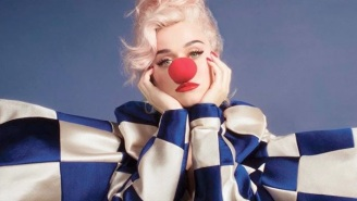 Katy Perry Bounces Back From Dark Times On Her Upcoming Album's Buoyant Title Track, 'Smile'