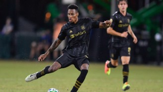 LAFC's Mark-Anthony Kaye Talks Bubble Life And Playing MLS' Hottest Rivalry In An Empty Stadium