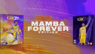 Kobe Bryant Will Appear On The 'Mamba Forever' Edition Of 'NBA 2K21'