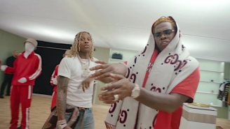 Lil Durk Drag Races With Gunna In His Luxurious 'Gucci Gucci' Video