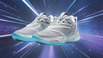 The Nike Adapt BB 2.0 Gets A Back To The Future II Colorway That Improves On The Original Nike MAG
