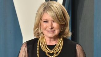 Martha Stewart Agrees That Her Sultry Pool Selfie Was 'Definitely A Thirst Trap'