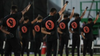 MLS Had A Black Lives Matter Demonstration With Players From Across The League Before Their First Game