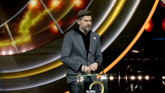 Watch 'Game Of Thrones' Star Nikolaj Coster-Waldau Celebrate Leeds United Returning To The Premier League
