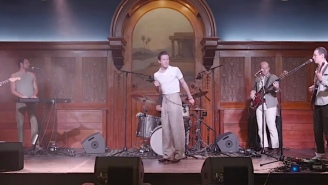 Perfume Genius Performed Two Songs From An Empty Concert Venue On 'Fallon'