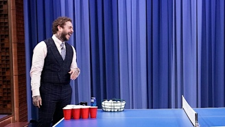 Post Malone Is Apparently Thinking About Starting A Beer Pong League