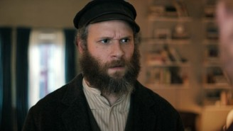 The 'An American Pickle' Trailer Features Seth Rogen Catching Up With A Very Briny Ancestor