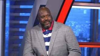 Shaq Had A Hilarious Reaction To Kyle Kuzma Saying He'd Shoot Over Jesus