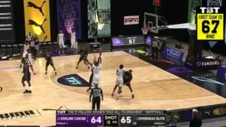 Sideline Cancer Stunned Overseas Elite On A Game-Winning Three To Reach The TBT Finals