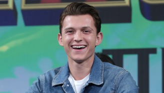 Tom Holland's Excitement To Begin Filming 'Spider-Man 3' Can't Be Restrained By His COVID Mask