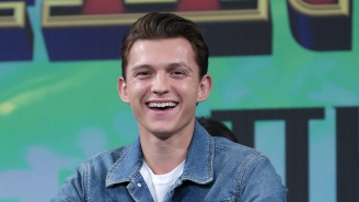 Tom Holland Is Happy To Be 'That Lucky Little Sh*t' Who Gets To Be Spider-Man In The 'Most Ambitious Standalone Superhero Movie Ever'