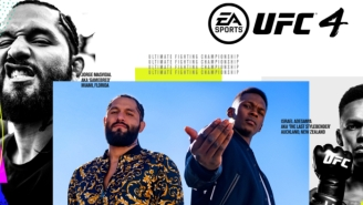 Jorge Masvidal And Israel Adesanya Are On The Cover Of 'UFC 4'
